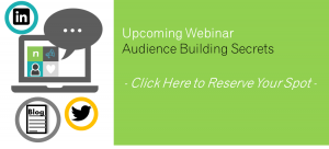 Audience Building webinar